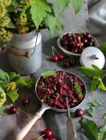 chutney wiśniowy