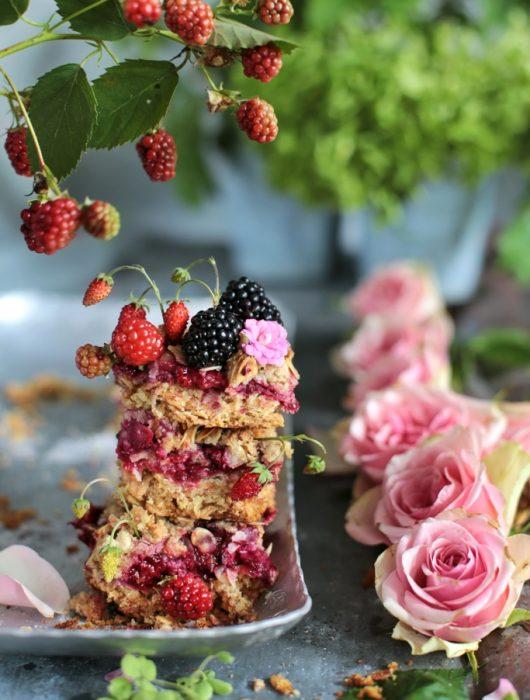 fit ciasto z owocami