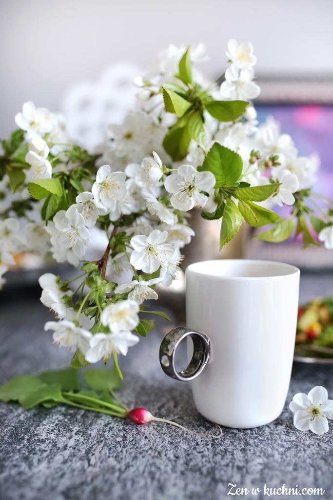 wiosenna sałatka z kaszą jaglaną