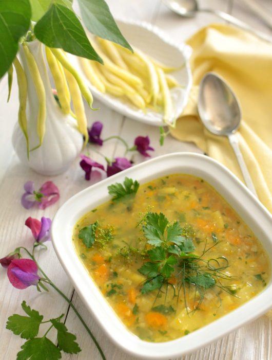 zupa z fasolki szparagowej 5 przemian