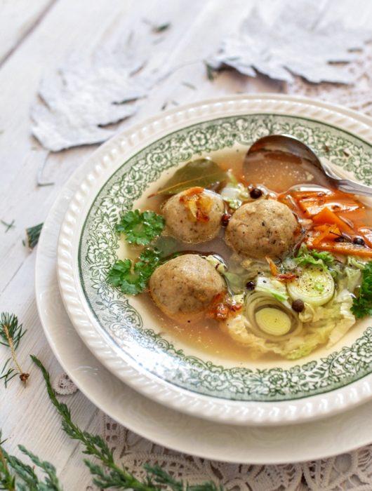 zupa rybna z pulpetami