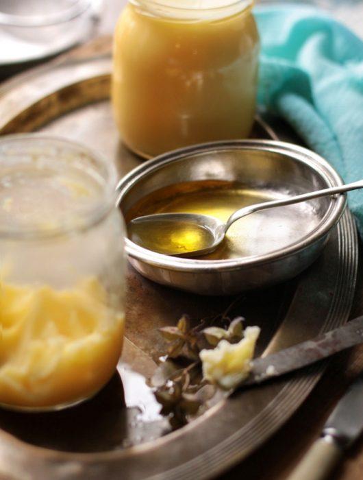 jak zrobić masło klarowane