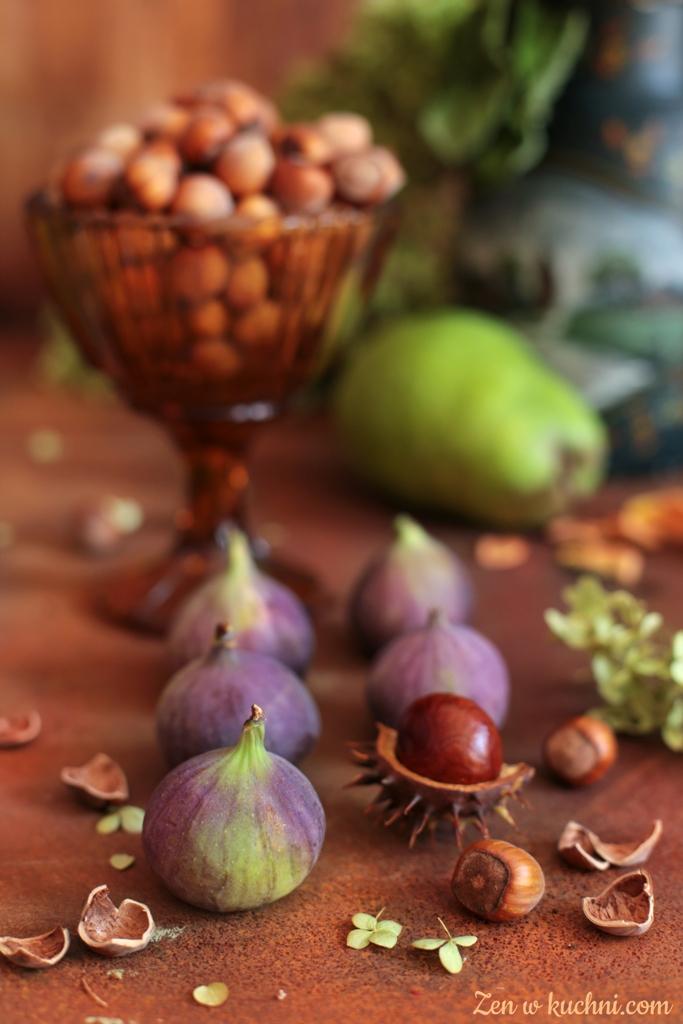 kasza jaglana z gruszką