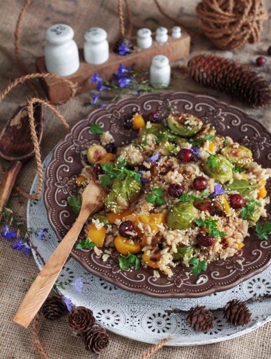 wegański ryż