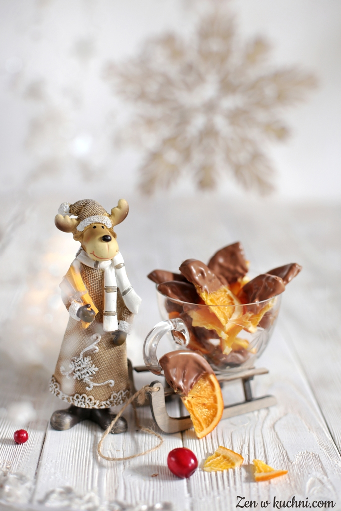 kandyzowane pomarańcze w czekoladzie