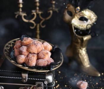 mini pączki serowe