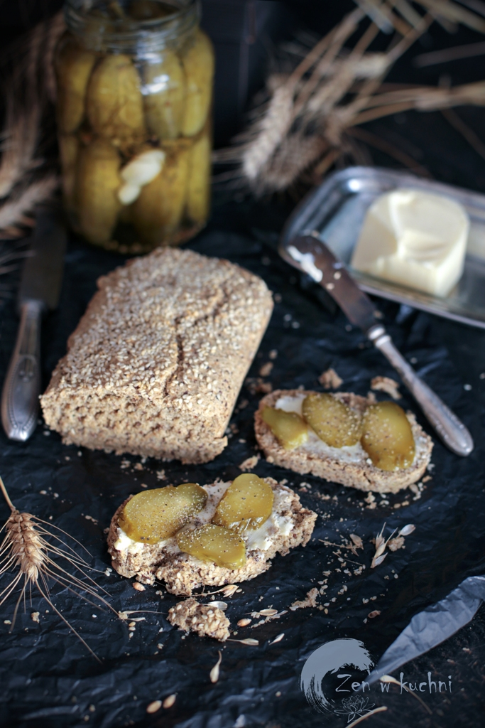 chleb owsiany bez drożdży