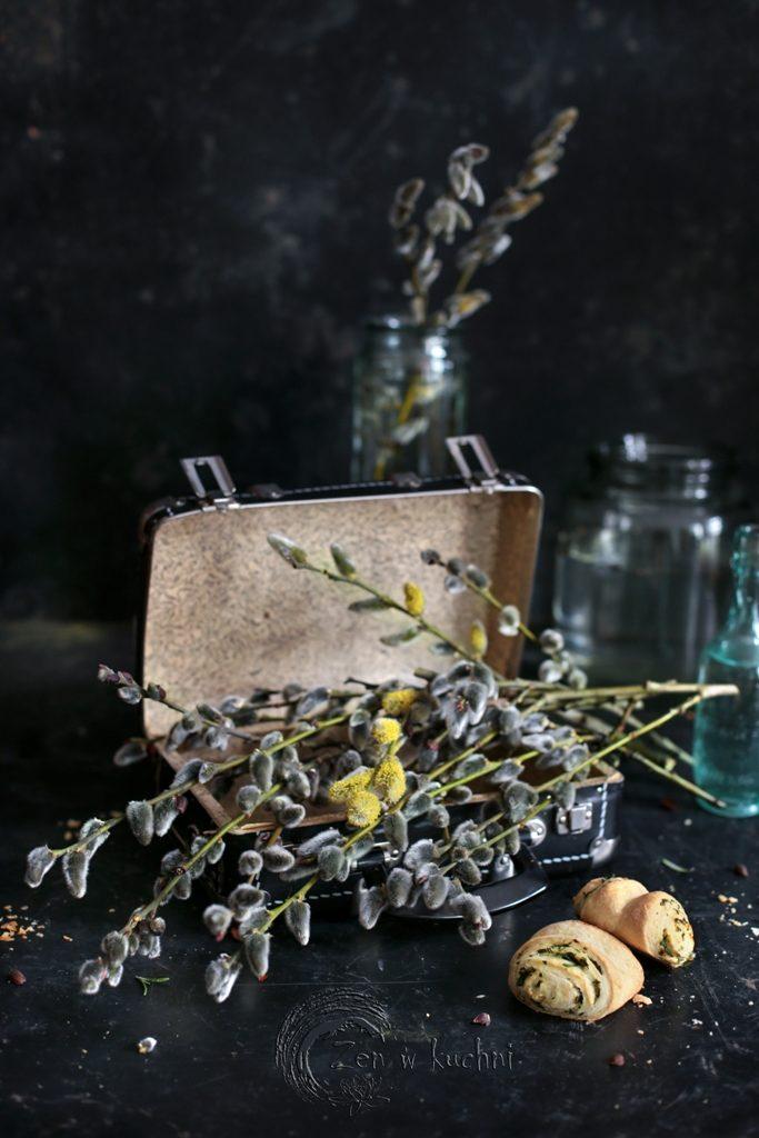 bułeczki z fetą i ziołami