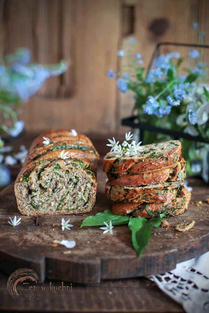 chleb pełnoziarnisty na drożdżach