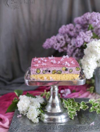ciasto z borówkami bez glutenu i cukru
