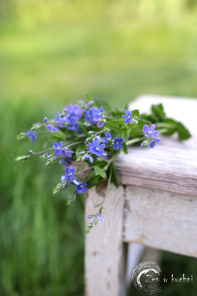 stylizacje kwiatowe w plenerze