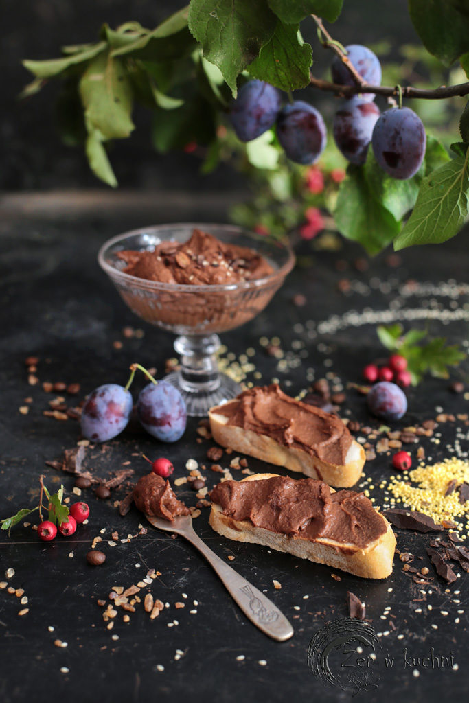 domowa nutella z kaszy jaglanej