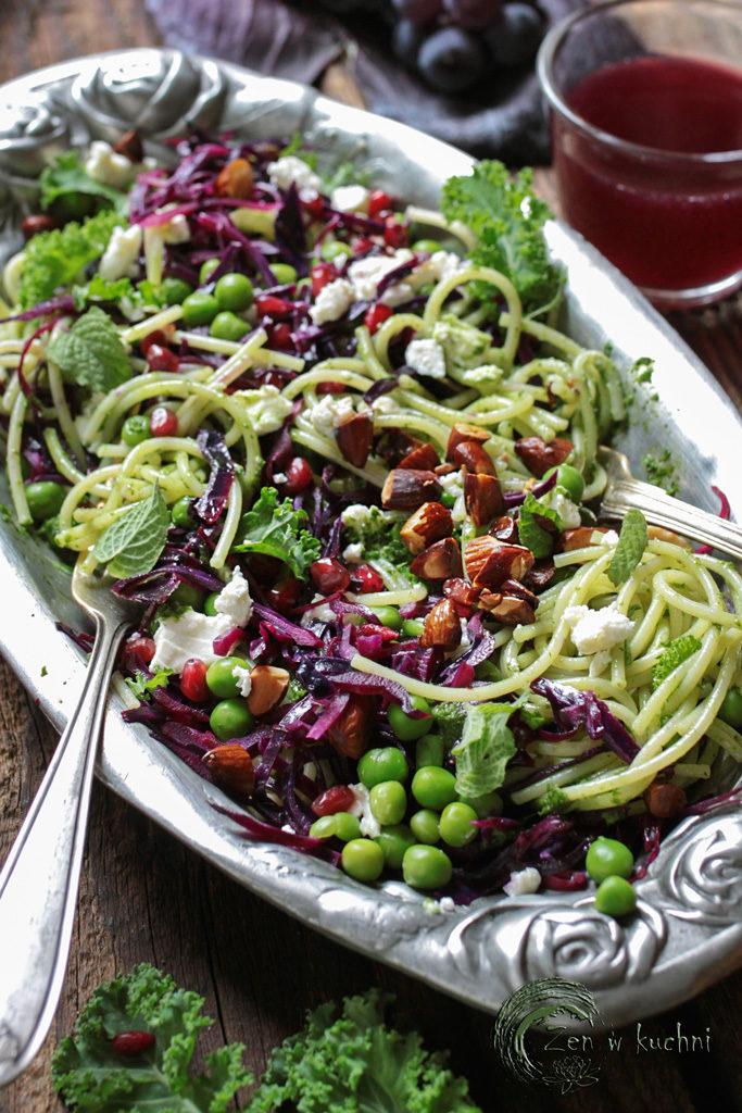 świąteczny obiad wegetariański