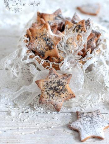 wegańskie ciasteczka z masłem migdałowym