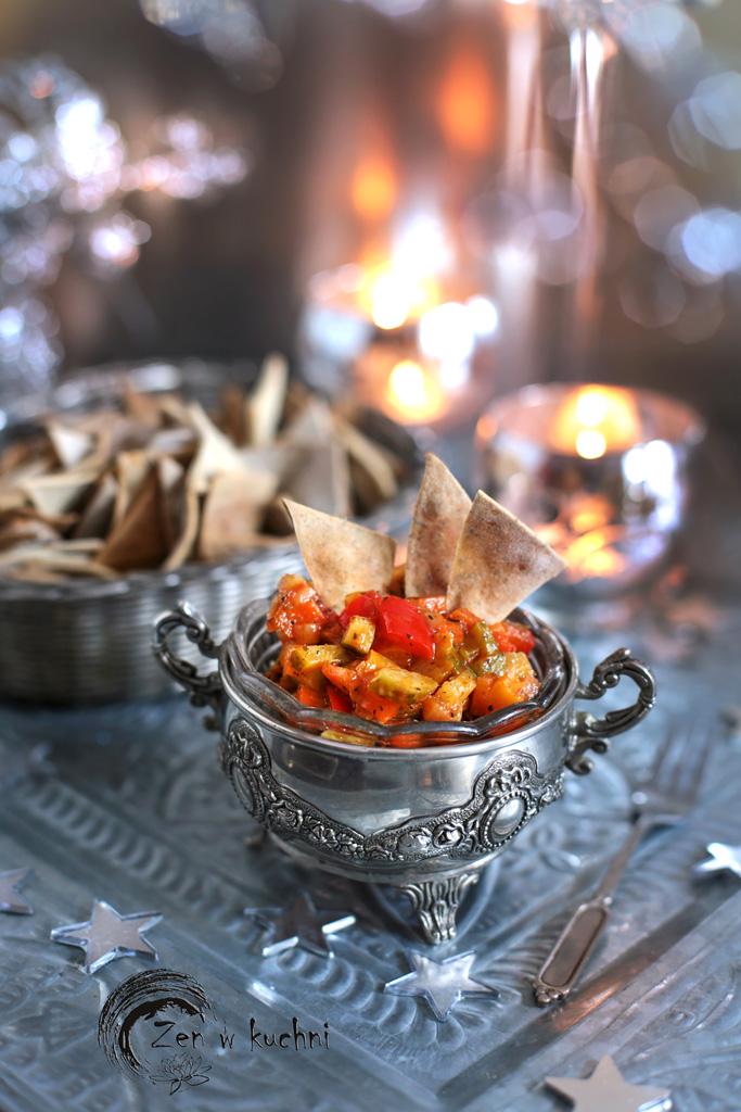 salsa paprykowa do ryby lub nachos