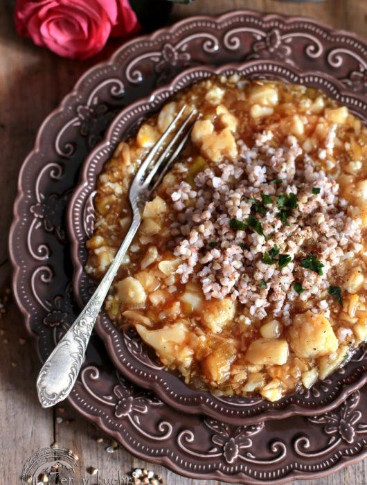 kalafior w sosie słodko kwaśnym