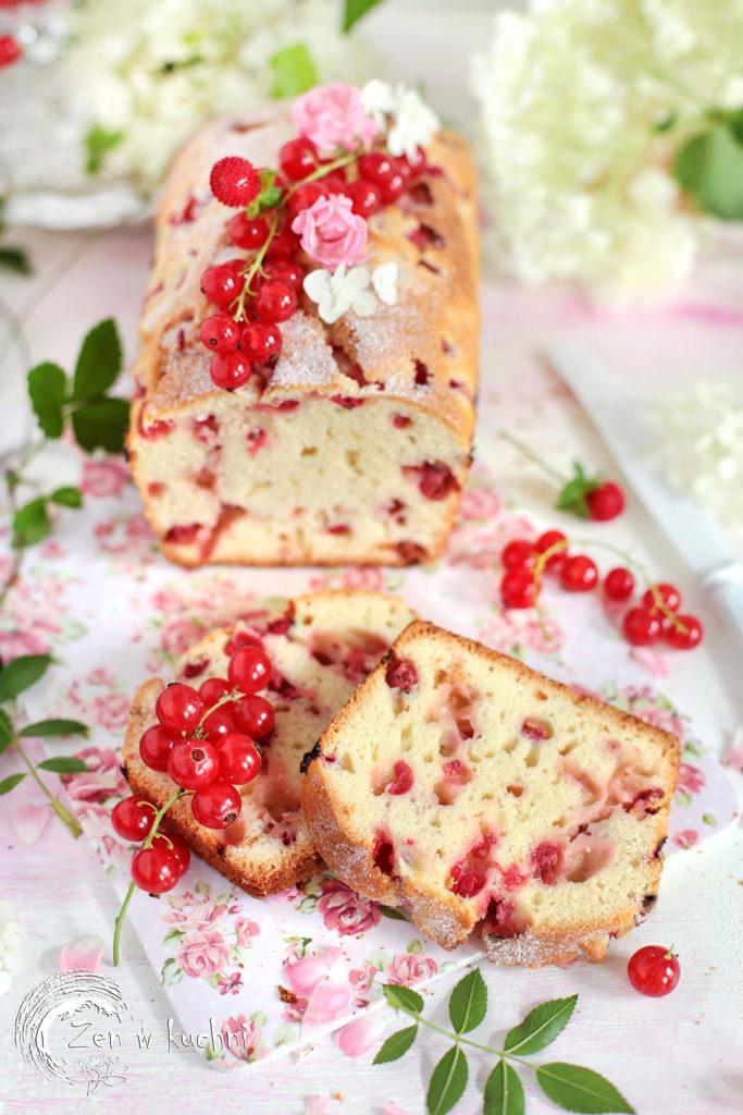 ciasto z porzeczkami na oliwie