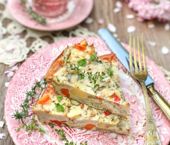 Zapiekanka z ziemniaków i kalafiora
