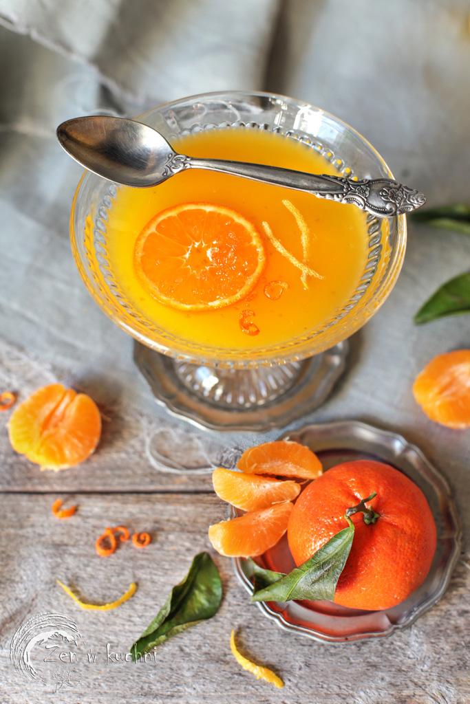kisiel z pomarańczy